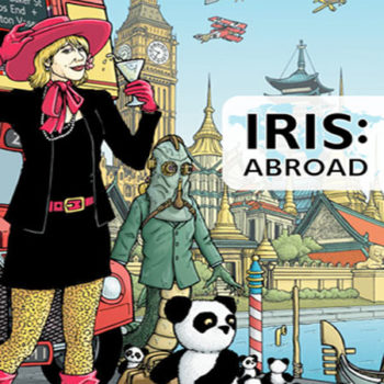 Iris Abroad Cover