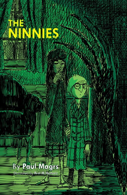 Ninnies Cover (art by Bret M Herholz)