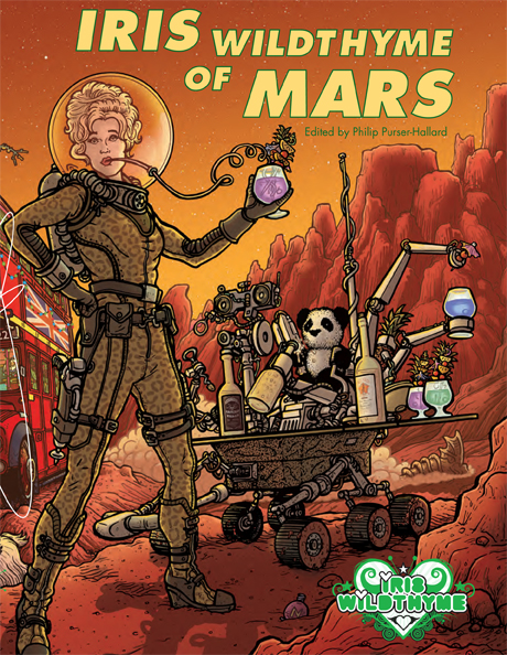 Iris on Mars Front Cover