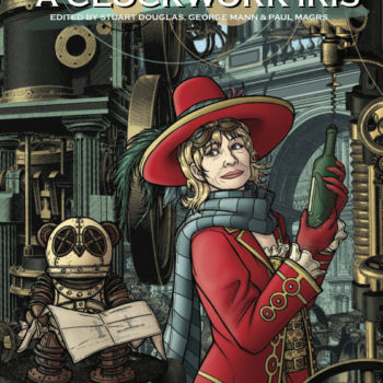 A Clockwork Iris Front Cover