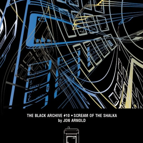 Scream of the Shalka Black Archive Cover