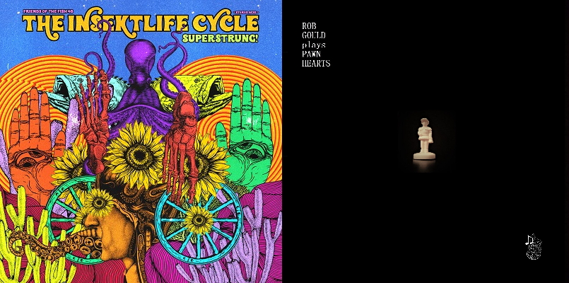 Covers of two albums