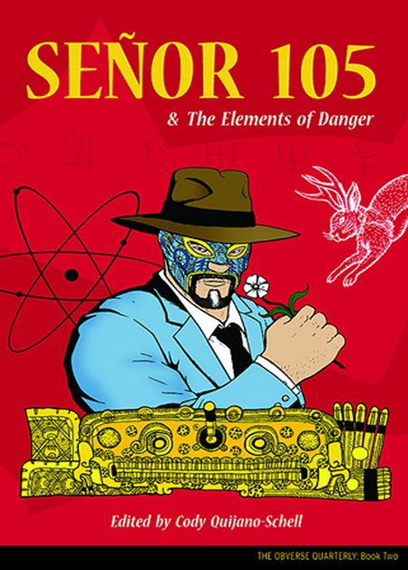 Senor 105 & the Elements of Danger Cover (art by Paul Hanley)
