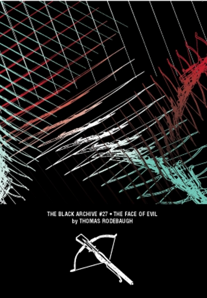 Black Archive Face of Evil front cover