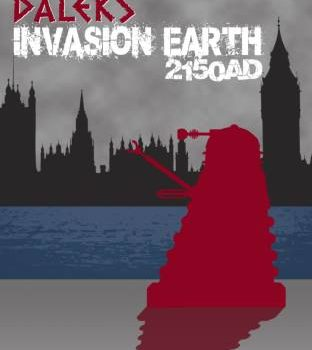 Dr Who Dalek Invasion Earth 2150 AD Cover