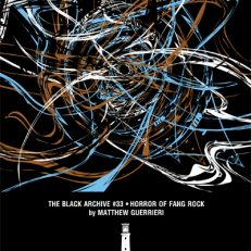 The cover of the HORROR OF FANG ROCK Black Archive from Obverse Books