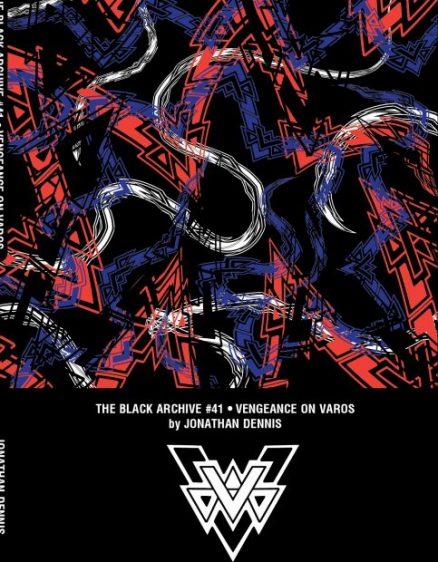 Vangeance on Varos Black Archive Cover