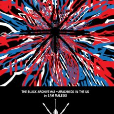 Arachninds in the UK Black Archive cover