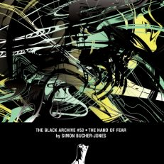 The Hand of Fear Black Archive paperback cover